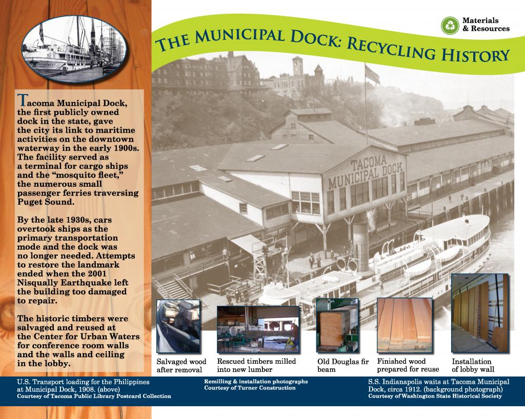 The Municipal Dock: Recycling HIstory