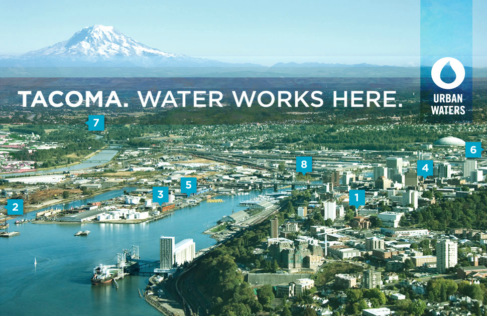 Tacoma. Water works here.